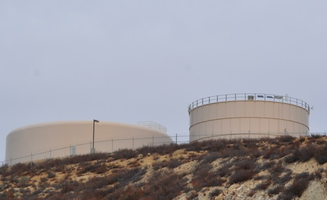 Reservoirs store clean water in tanks until it is ready to be used.