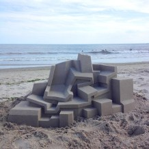 Mind-blowing-Geometric-Sandcastles-by-Calvin-Seibert-5