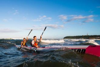 FNB Surfski Challenge race five 1