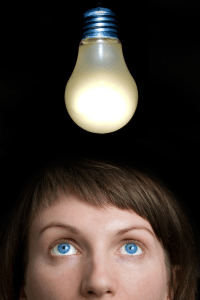 image of light bulb signifying a good idea