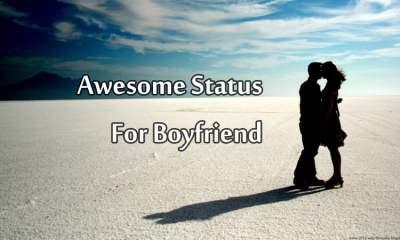 Whatsapp status for boyfriend