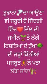 Sad Status For WhatsApp in Punjabi