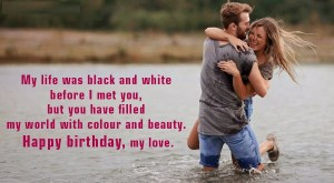 cute birthday message for Wife