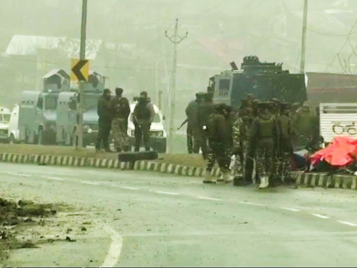 Pulwama Attack martyrs