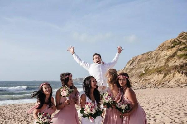 Beach Wedding in Lisbon