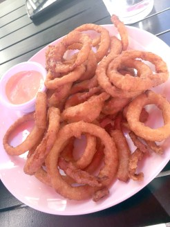 Onion Rings with Chipotle Mayo