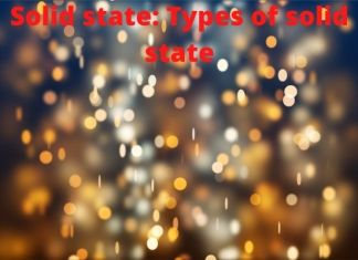 solid state: types of solid state