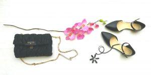 borsa patrizia pepe e accessori neri