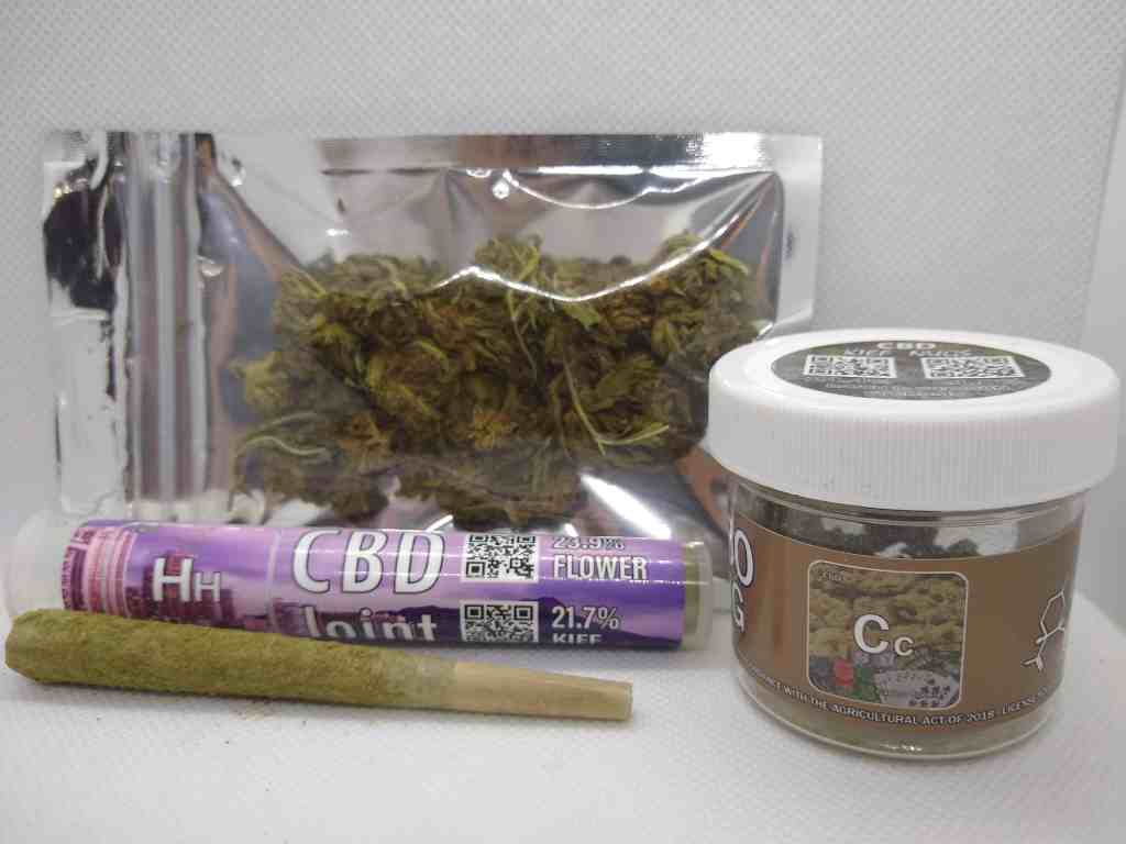 hemp flower package