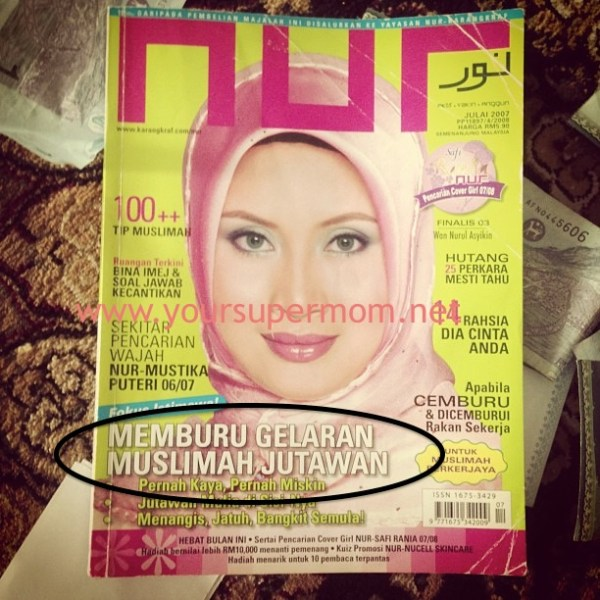 Muslimah Jutawan NUR Julai 2007