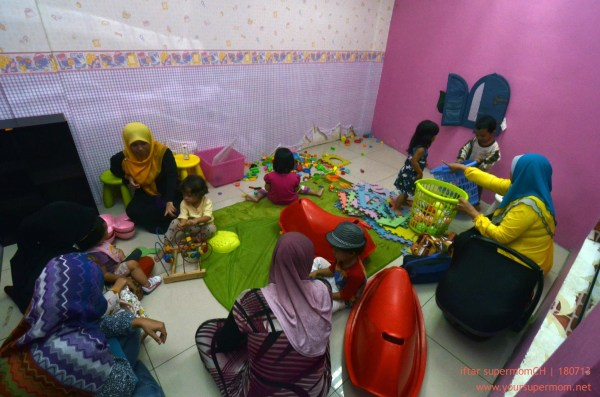 kids playroom di Restoran Tempayan