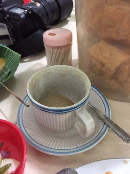 kopi telur padang
