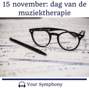 Dag van de muziektherapie