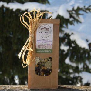 """Tisane """"Maux d hiver"""" bio yourte végétale montaimont saint françois longchamp savoie ferme agriculture"""