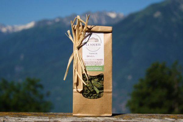 tisane basilic soins naturopathie nature ferme bio yourte végétale saint françois longchamp savoie bien être