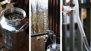 distillation hydrolat bio yourte végétale montaimont saint françois longchamp savoie ferme agriculture