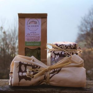 coffret de Noël de la yourte végétale permaculture nature ferme bio saint françois longchamp savoie