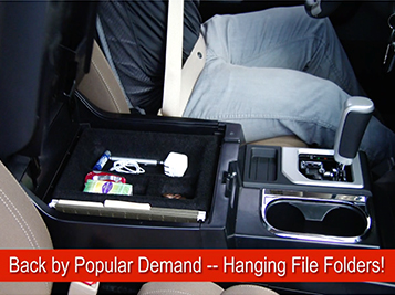 """Toyota Tundra Console Tray: """"Keep it at Your Fingertips"""""""