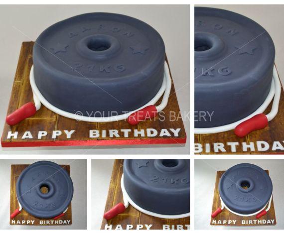 21KG for 21 Cake