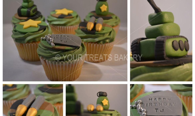 Barmy Army Cupcakes