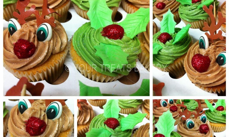Christmas Festivity Cupcakes