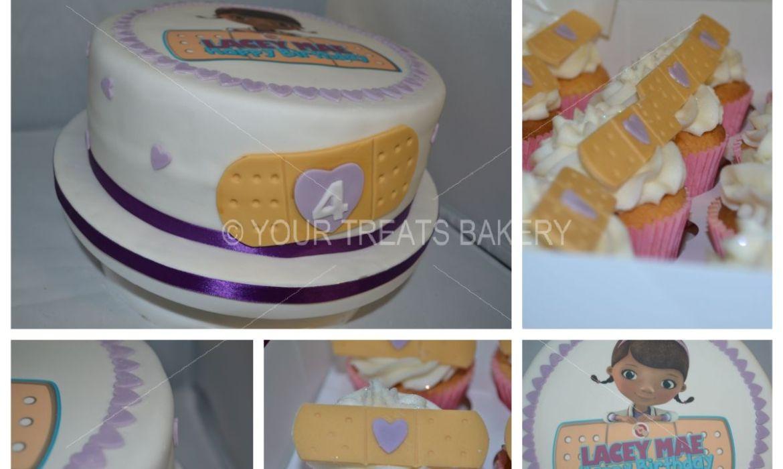 Doc McStuffins Personalised Cake