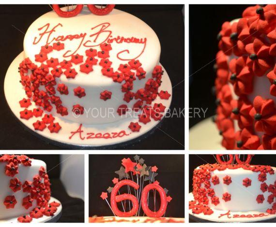 Red Ivy Cake