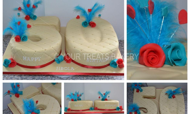 Rose Quilt Cake