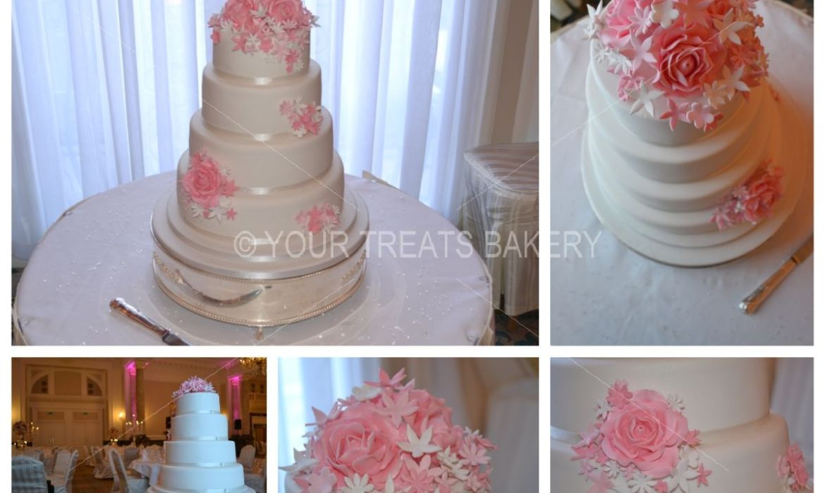 The Growth of Flowers Cake