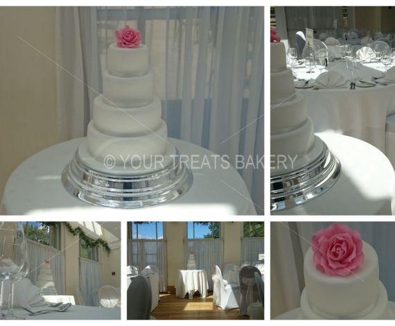 The Pink Rose Cake