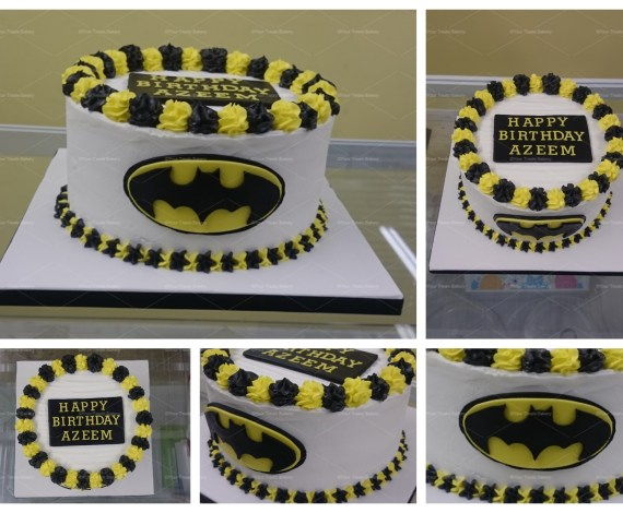 Batman Buttercream Delight