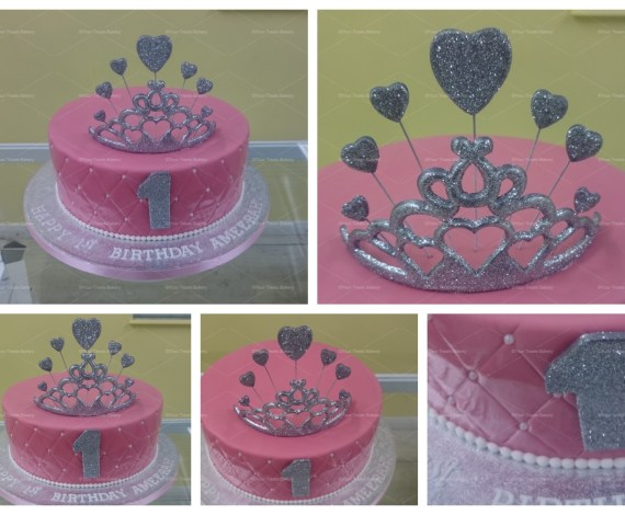 Quilted Princess Cake