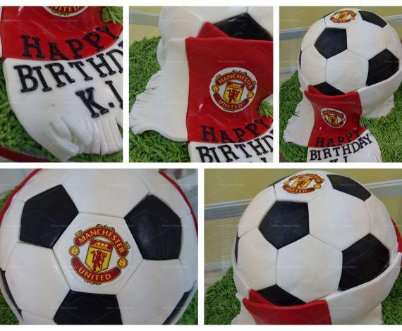 Football Emblem Cake