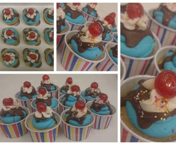 Funfair Ice Cream Cupcakes