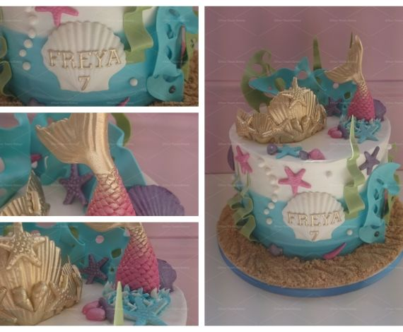 Mermaid Ocean Cake