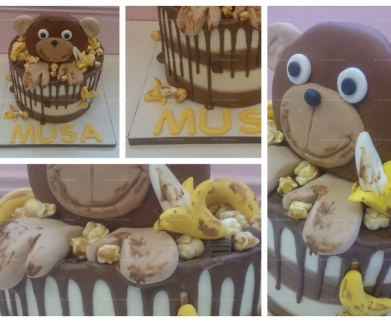 Monkey Business Banana Cake