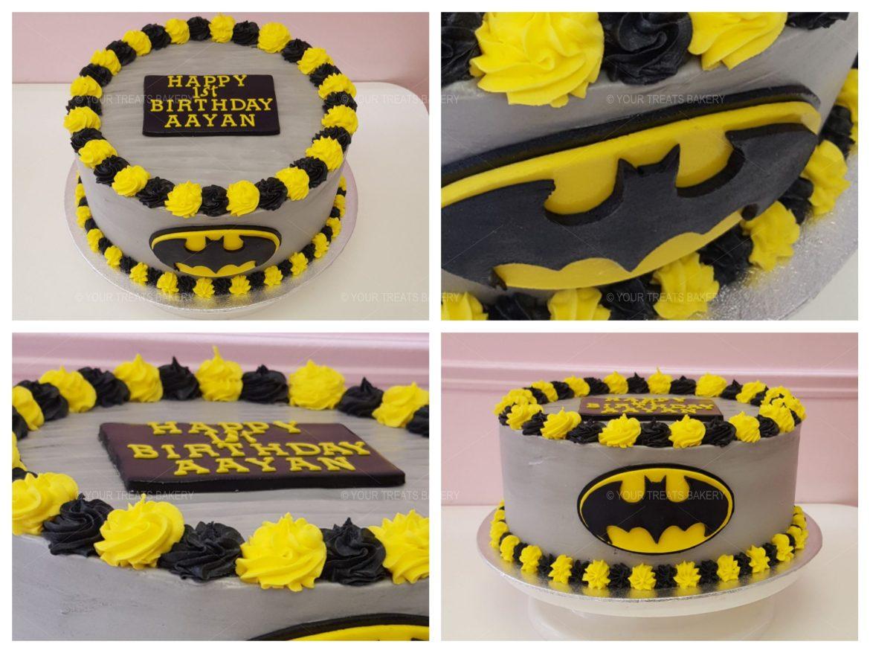 Batman Buttercream Delight Cake