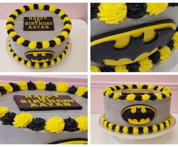 Batman Buttercream Delight Cake
