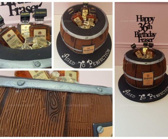 Disaronno Cake