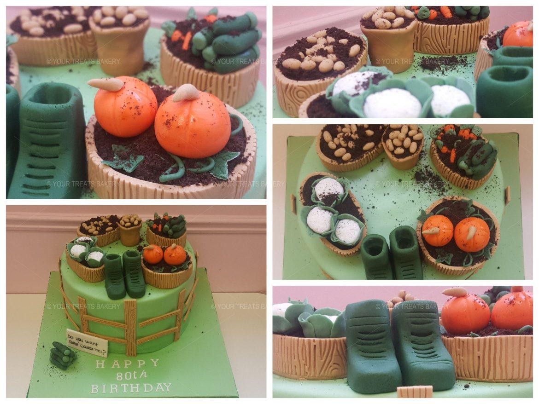 Farmers Veggie Cake