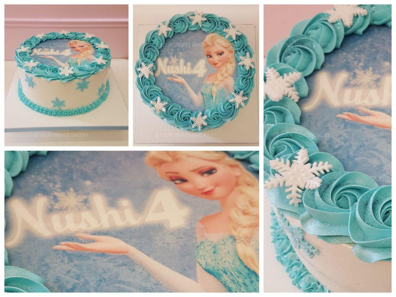 Frozen Elsa Buttercream Delight