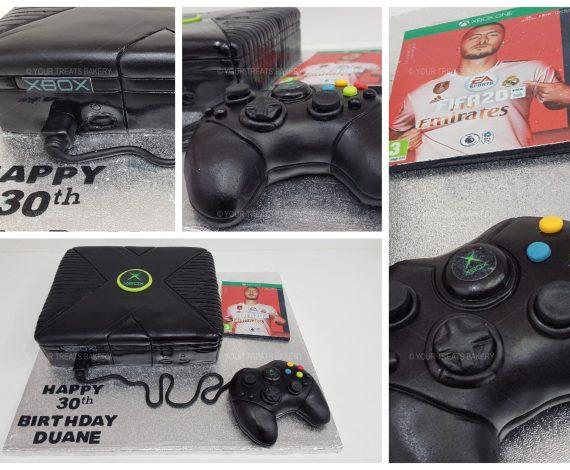 Retro Xbox Cake