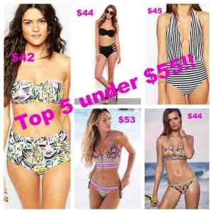 MY TOP 5 SWIMSUIT PICKS