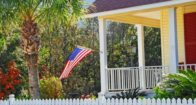 Military Home with Flag - Bill Salvatore, Realty Executives East Valley - 602-999-0952