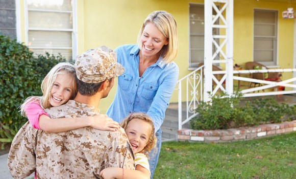 Military Family at Home - Heroes Home Advantage, Cash Back Program