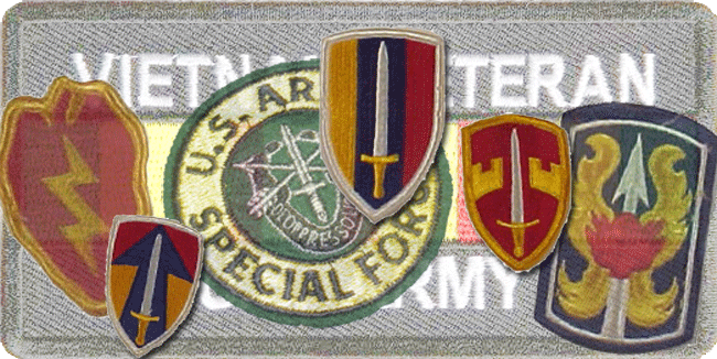 Viet Nam Veterans Patches - Bill Salvatore, Realty Executives East Valley - 602-999-0952