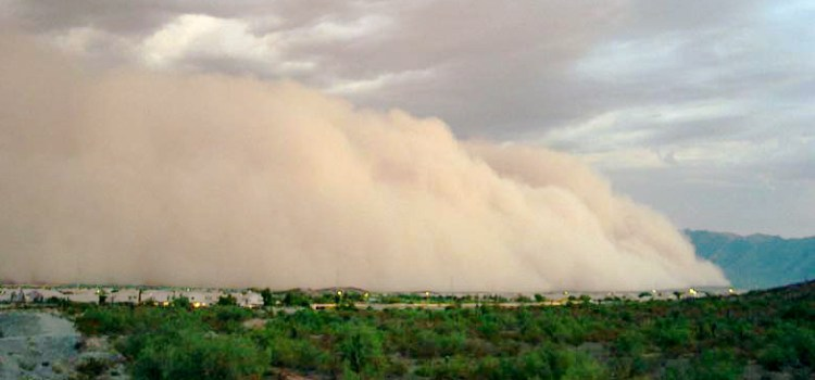 Wind damage insurance coverage - Dust Storm in Arizona - Bill Salvatore, Realty Executives East Valley - 602-999-0952