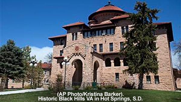 (AP Photo/Kristina Barker). Historic Black Hills VA in Hot Springs, S.D. - Bill Salvatore, Realty Executives East Valley - 602-999-0952