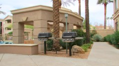 Gas grills available to residents - 5303 N 7th St, Phoenix AZ - Gas grills just outside Unit #118 - Bill Salvatore, Arizona Elite Properties 602-999-0952 - Arizona Real Estate