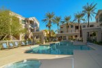Swimming pool, spa and picnic ramadas - 5303 N 7th St Phoenix, at The Carlyle - community pool - Bill Salvatore, Arizona Elite Properties 602-999-0952 - Arizona Real Estate
